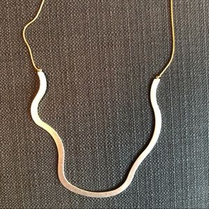 Madewell Jewelry - Madewell two-tone necklace